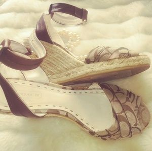 Coach cross Band Espadrille sandal